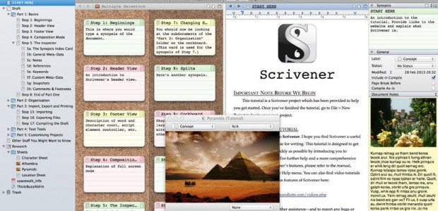 Software for Writers – A List of 7 Easy-to-Use Programs for Authors